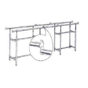 EXTENSION BARS FOR THE H RACK 01-007CH/AH