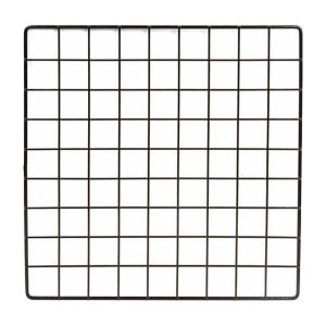 BLACK PLASTIC MINI GRID PANEL