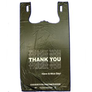 BLACK THANK YOU BAGS